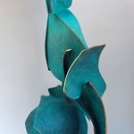 Fabricated Copper abstract sculpture