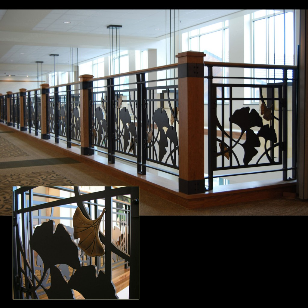 site specific art, architectural metalwork, lin cook, hospital art, hospital art design