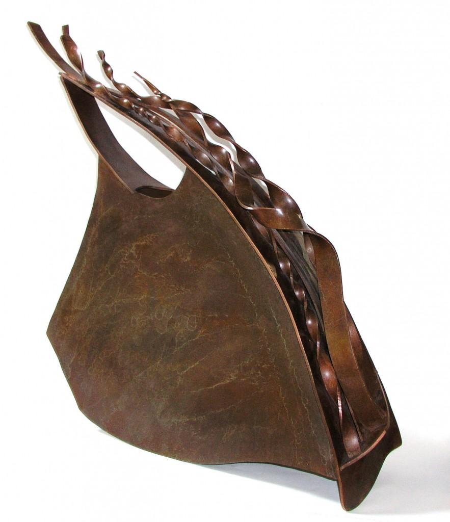 fabricated copper vessel