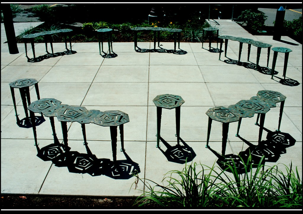 Zebrafish Research Facility Courtyard Seating
