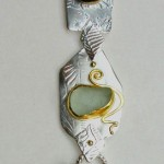 Sterling, 18  and 22 Kt. Gold with Etching, Roller Printing